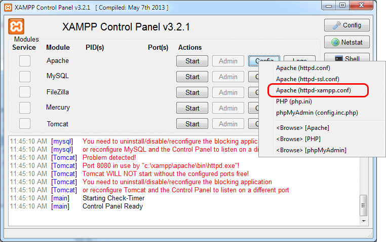 How to Update PHP Version on XAMPP (Windows)?