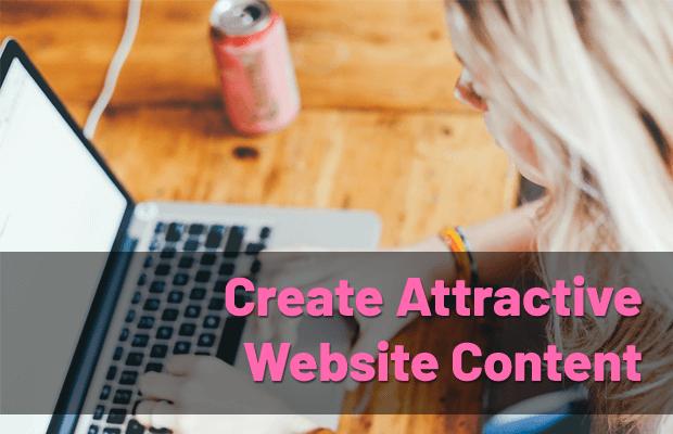 create-attractive-website-content