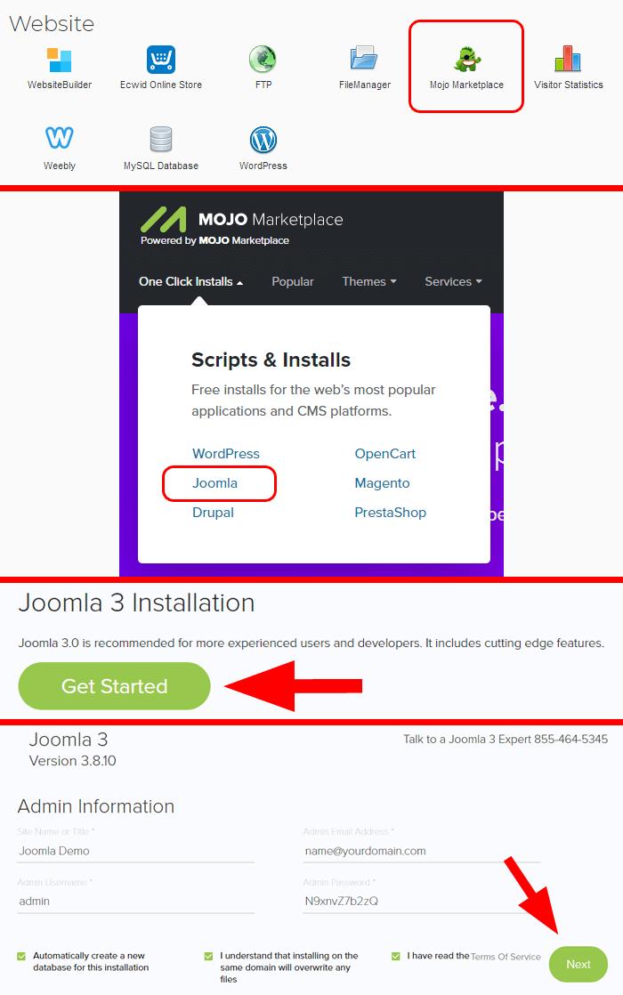 ipage-install-joomla