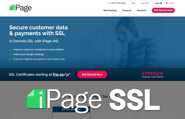 does ipage support ssl? how to use it?