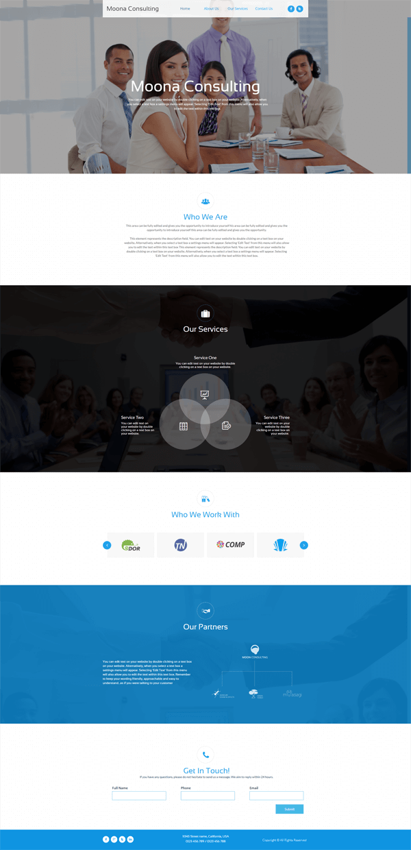 ipage-website-builder-template-example