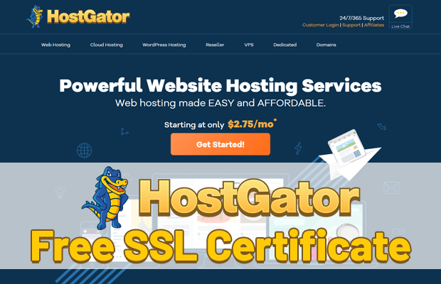 hostgator free ssl certificate overview & how to install it