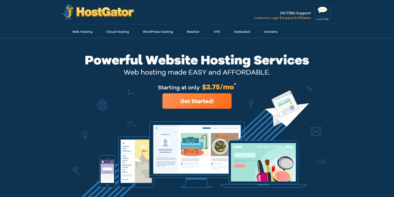 hostgator-best-ehost-alternative