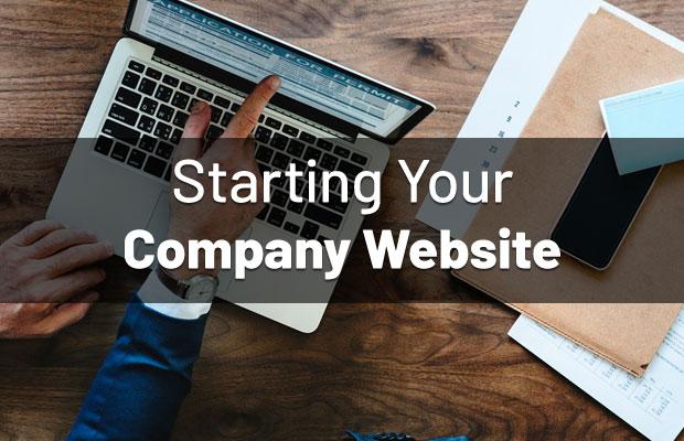 start-company-website
