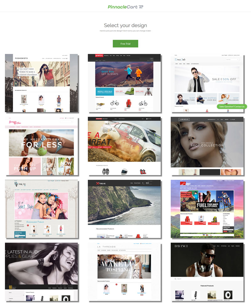 pinnaclecart-themes-design-templates