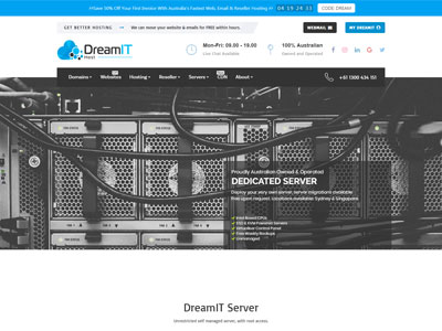 dreamit-dedicated-server-australia