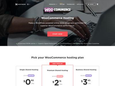 hostinger-woocommerce-hosting-australia